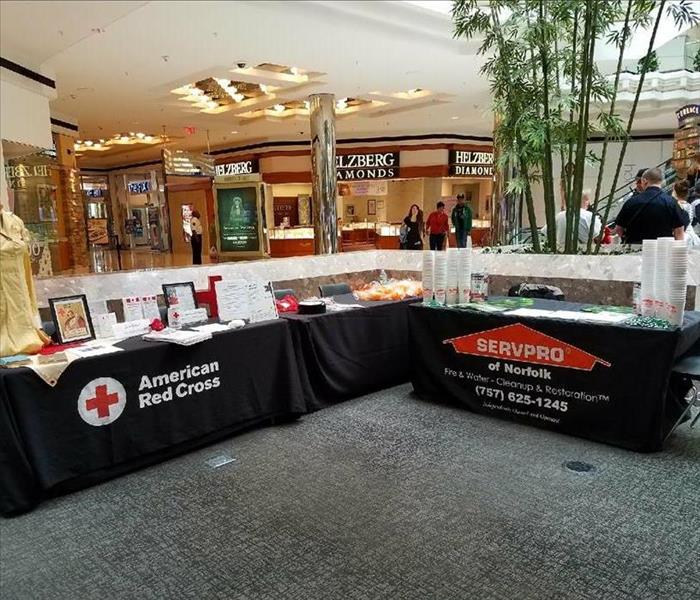 SERVPRO Norfolk with The Coastal American Red Cross